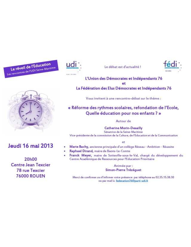 Invit Carrefour UDI 76 - Education